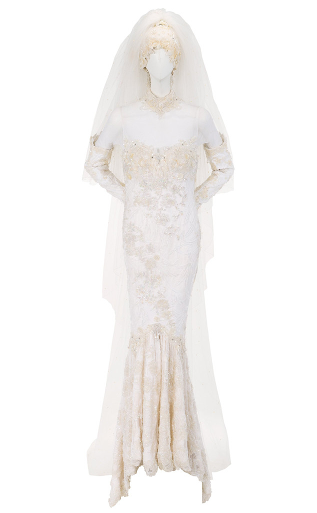 Whitney Houston, Wedding Dress Auction