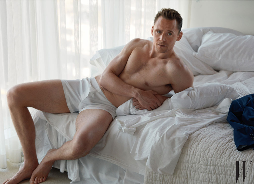 Tom Hiddleston, W Magazine