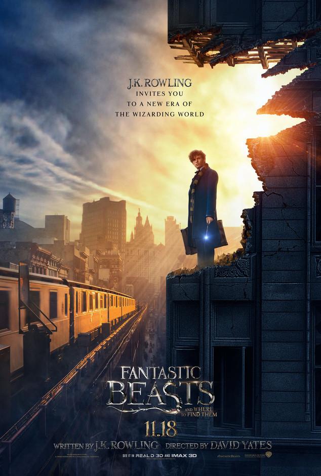 Fantastic Beasts, Poster, Eddie Redmayne