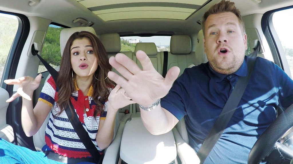 Selena Gomez, James Corden, Carpool Karaoke