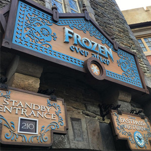 Frozen Ever After ride, Disney World