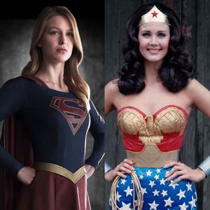 Lynda Carter, Wonder Woman, Melissa Benoist, Supergirl