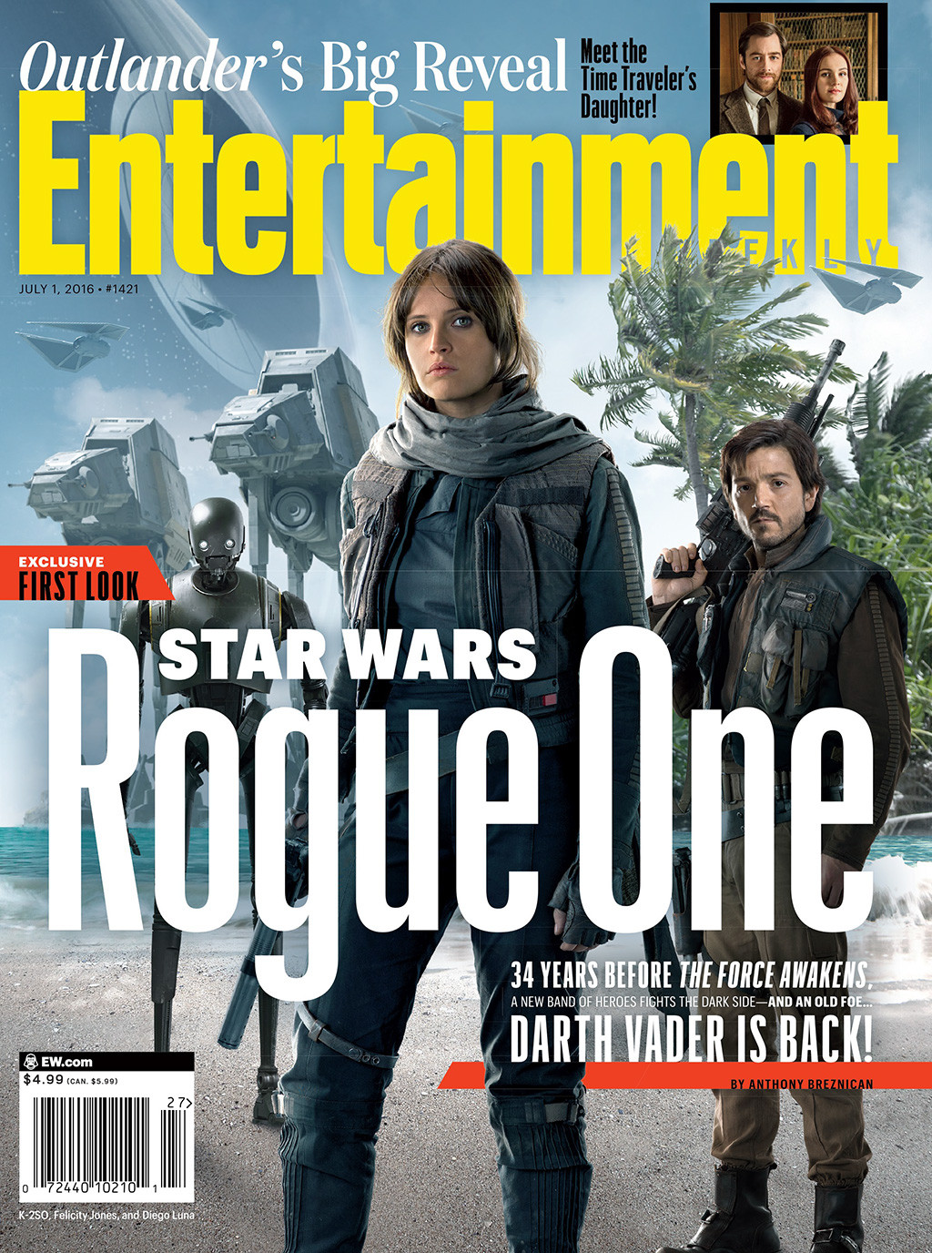 Star Wars: Rogue One, Entertainment Weekly
