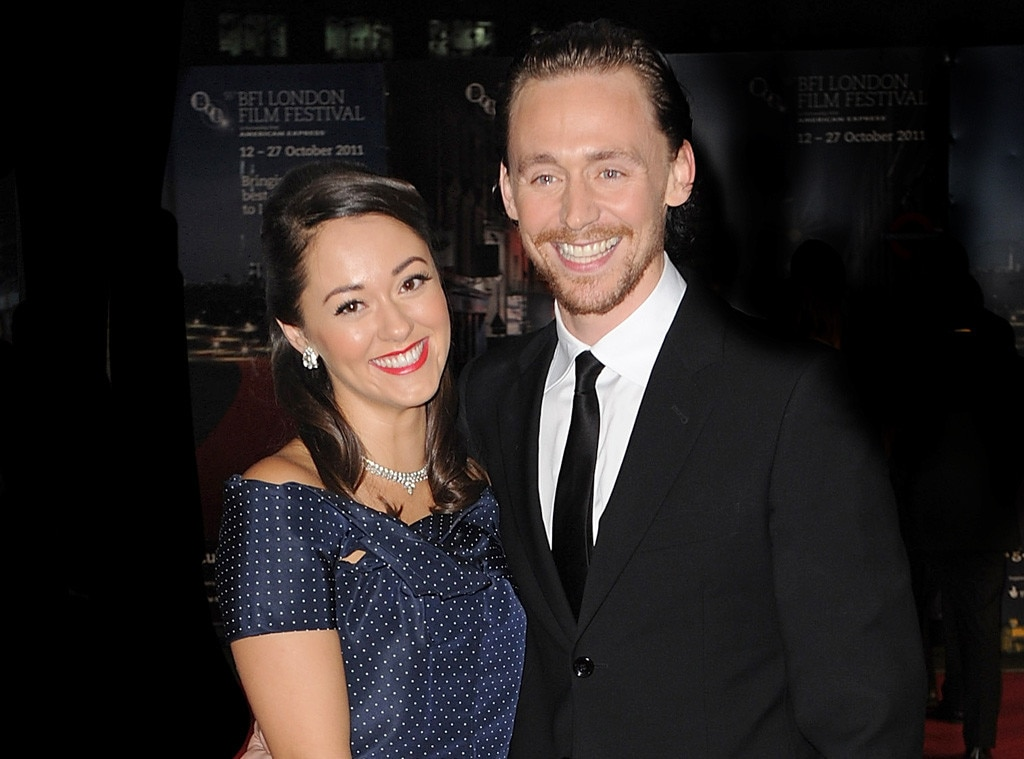 Tom Hiddleston, Susannah Fielding, break up