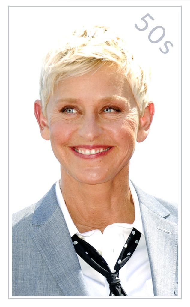 Ellen DeGeneres from Best Skin-Care Products for Every Age