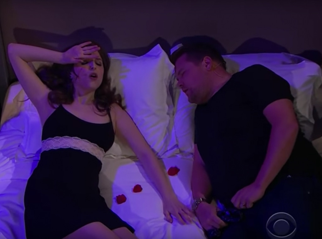 Anna Kendrick, James Corden, The Late Late Show