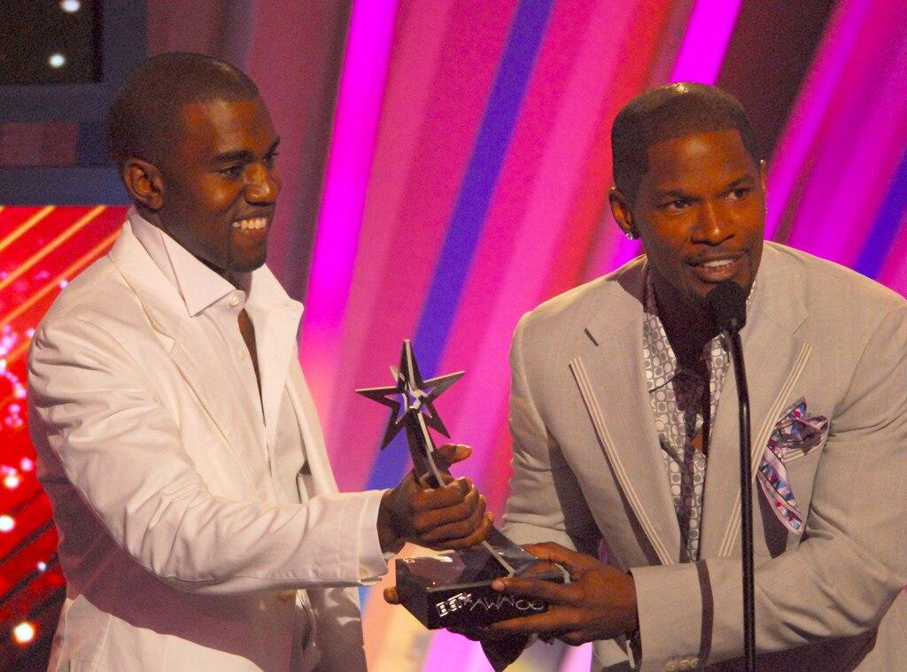Kanye West, Jamie Foxx, BET Awards 2006