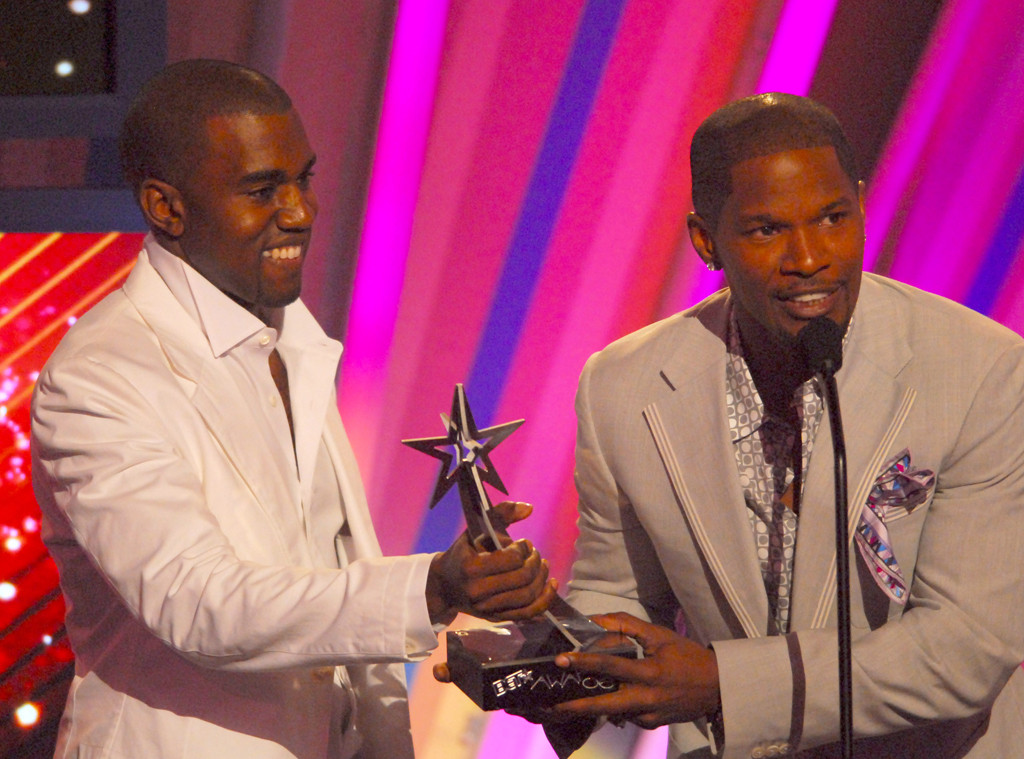 Kanye West, Jamie Foxx, BET Awards 2006