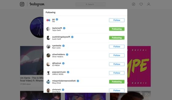 Calvin Harris, Taylor Swift, Instagram