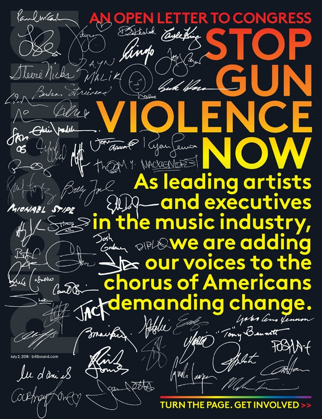 Billboard Orlando, Gun Violence