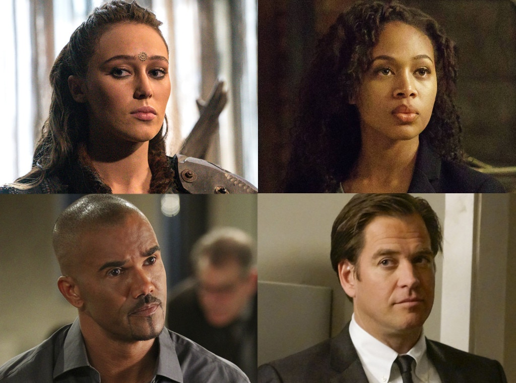 Alycia Debnam-Carey, The 100, Nicole Beharie, Sleepy Hollow, Michael Weatherly, NCIS, Shemar Moore, Criminal Minds