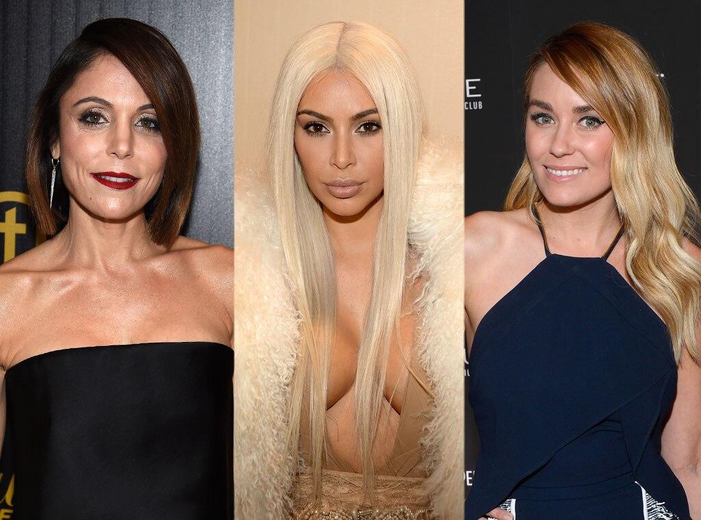 Bethenny Frankel, Kim Kardashian, Lauren Conrad