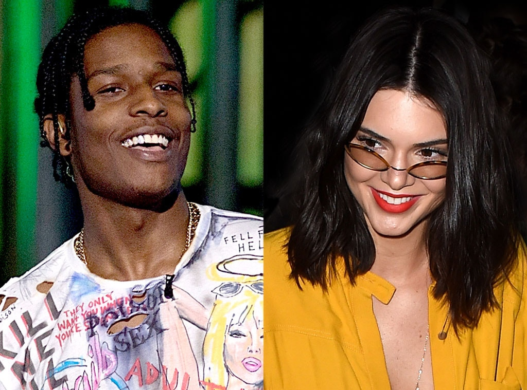 ASAP Rocky, Kendall Jenner
