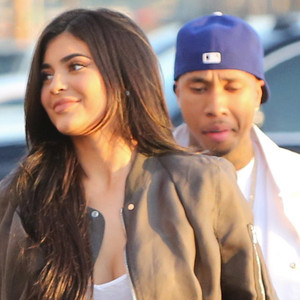 Kylie Jenner, Tyga, The Premiere of 'Famous