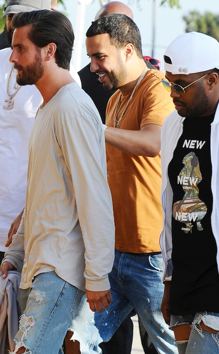 Scott Disick, French Montana, The Premiere of 'Famous'
