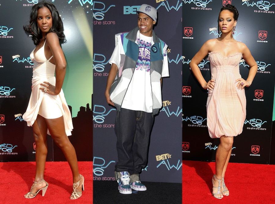 Kelly Rowland, Chris Brown, Rihanna
