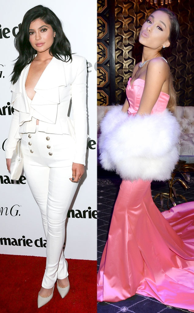 Kylie Jenner, Ariana Grande
