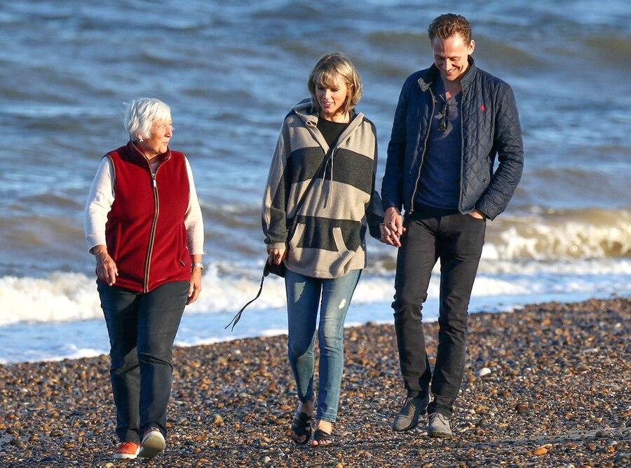 Taylor Swift, Tom Hiddleston, Tom Hiddleston's Mother