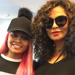 Blac Chyna, Tina Knowles, Instagram