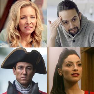 Villain, Guest star, Lin Manuel Miranda, Inside Amy, Tobias Menzies on Outlander, Lisa Kudrow, Unbreakable Kimmy Schmidt, Erica Cerr