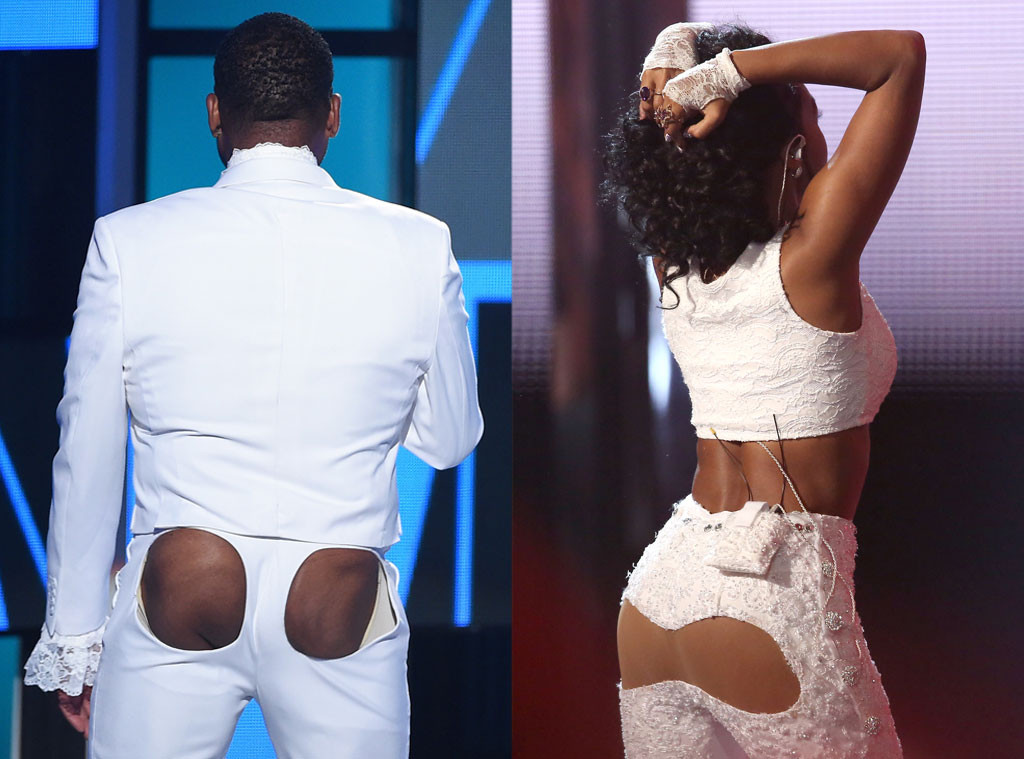 Anthony Anderson, Janelle Monae, Butts, BET Awards