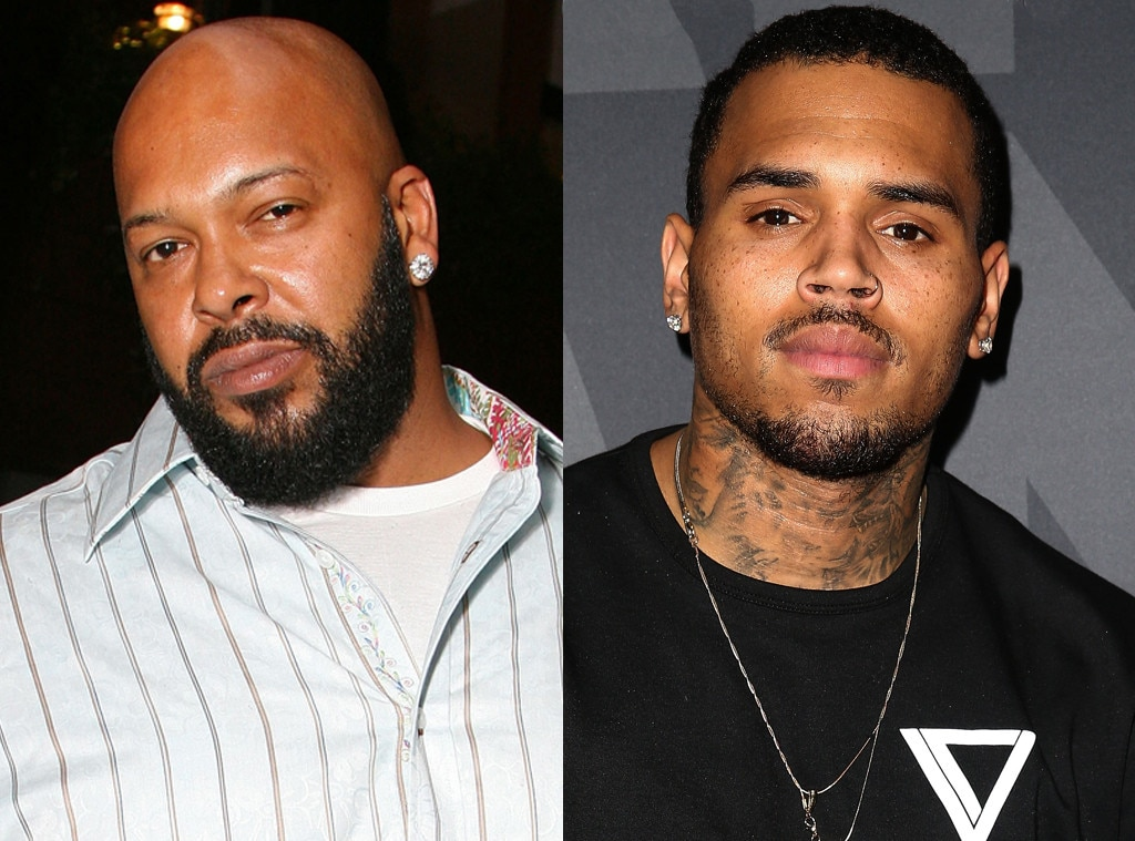 Suge Knight, Chris Brown