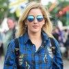 Historical Look Back at Celebs in Wellies at Glastonbury Festival, Ellie Goulding