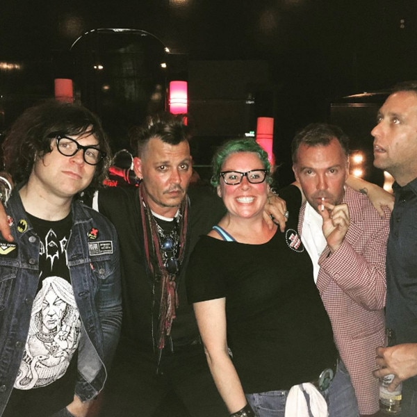 Johnny Depp, Kerry Mitchell, Doug Stanhope, Brett Erickson, Ryan Adams
