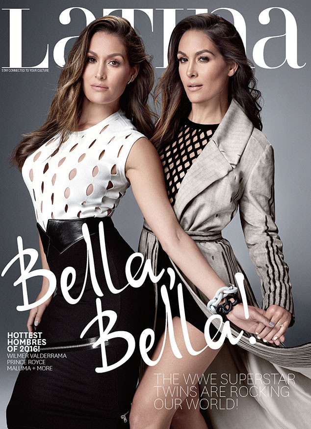 The Bella Twins Cover Latina Magazine, Brie Opens Up About ...