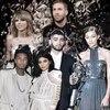 Breakup Graphic, Taylor, Calvin, Zayn, Gigi, Tyga, Kylie