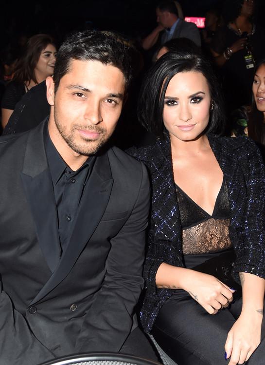 Demi Lovato and Wilmer Valderrama have