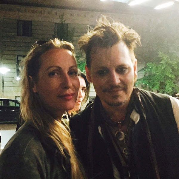 Johnny Depp, Tina Deleuran