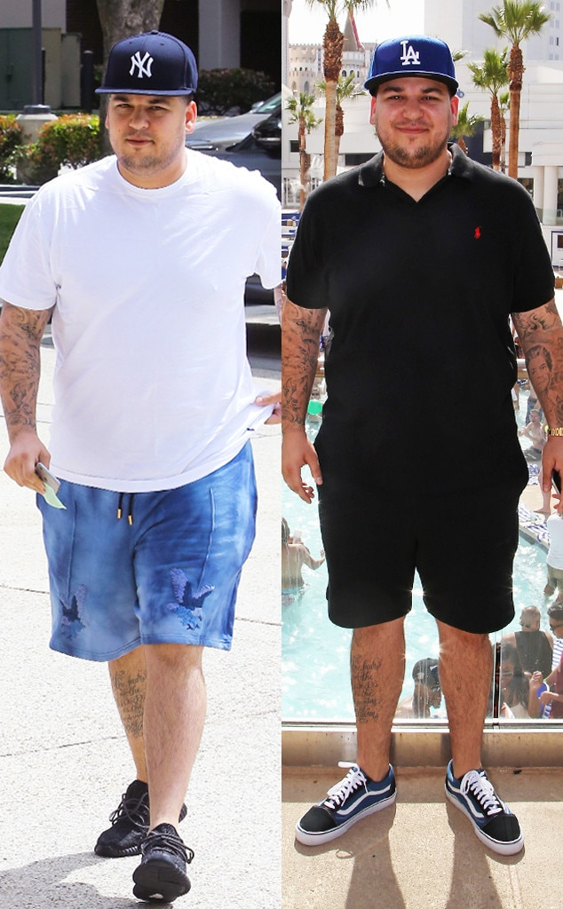 Did Rob Kardashian Have Secret $100k Weight Loss Surgery ...