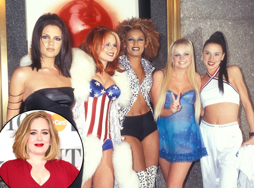 Spice Girls, Adele