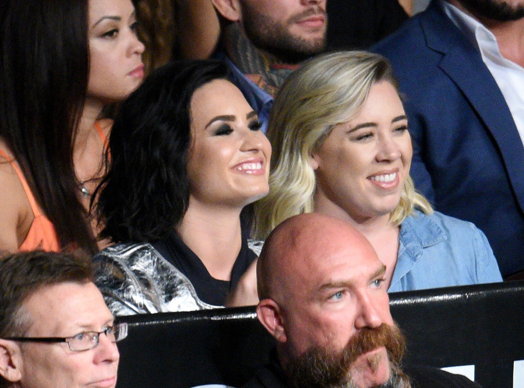 Demi Lovato, UFC Fight