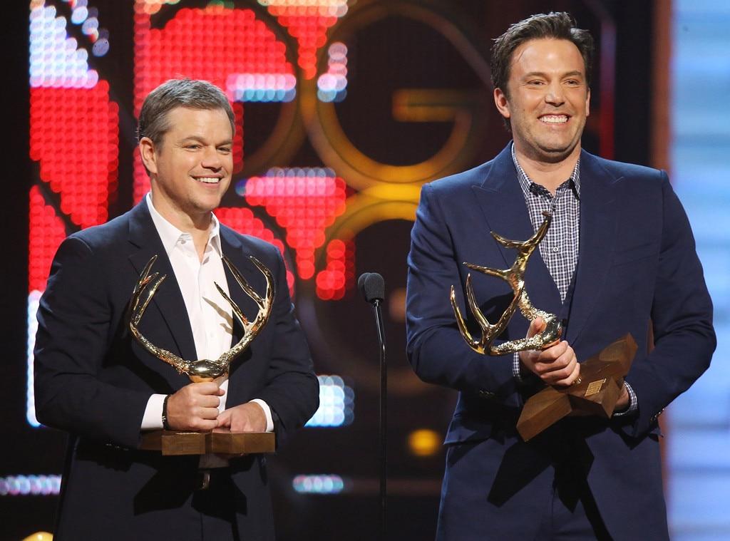 Matt Damon, Ben Affleck, Spike TVs Guys Choice 2016