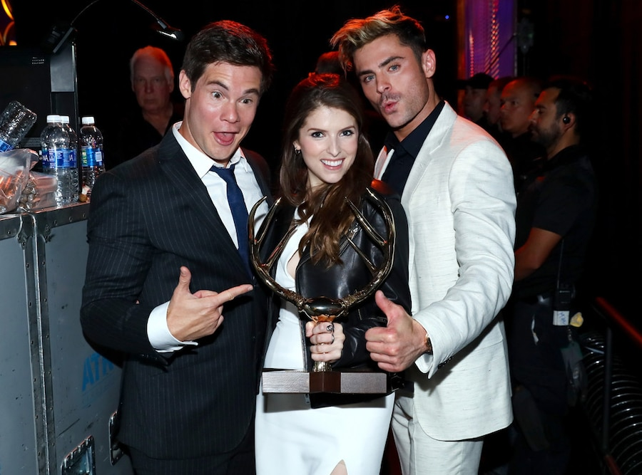 Adam DeVine, Anna Kendrick, Zac Efron, Spike TV's Guys Choice Awards 2016