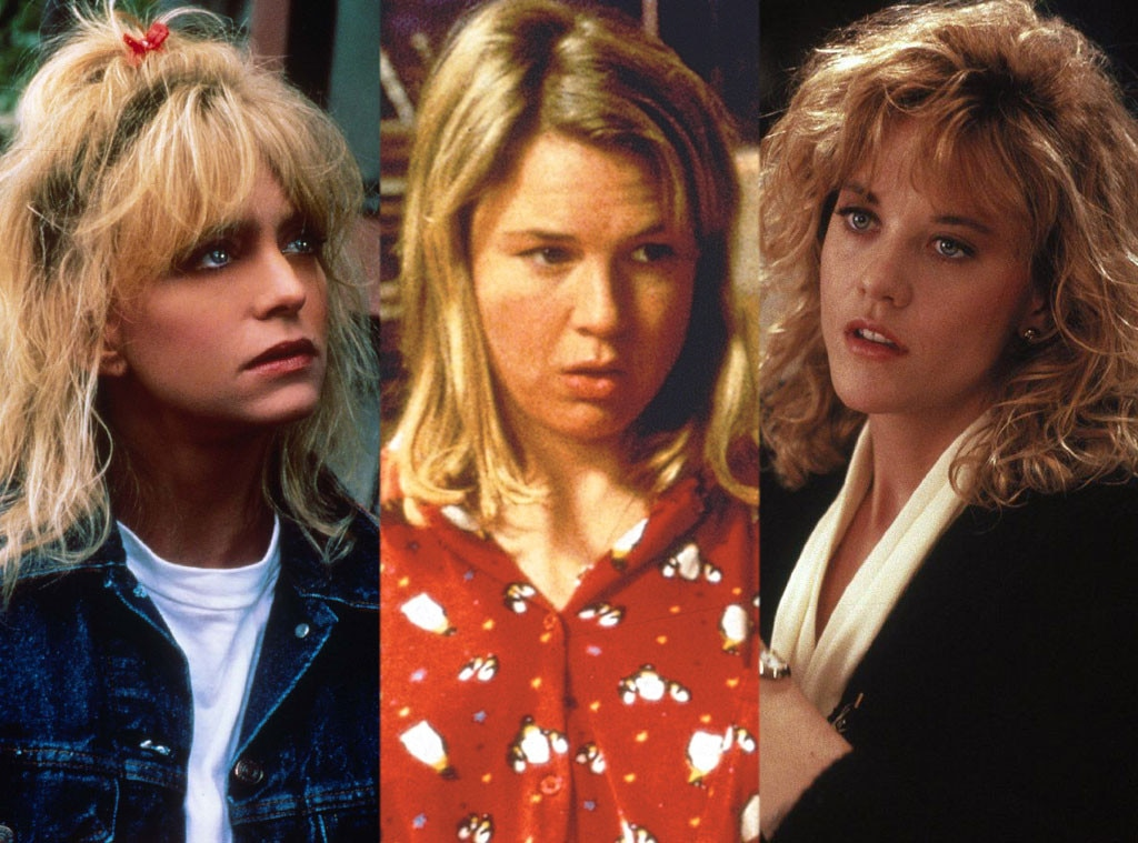 Goldie Hawn, Overboard, Renée Zellweger, Bridget Jones's Diary, Meg Ryan, When Harry Met Sally