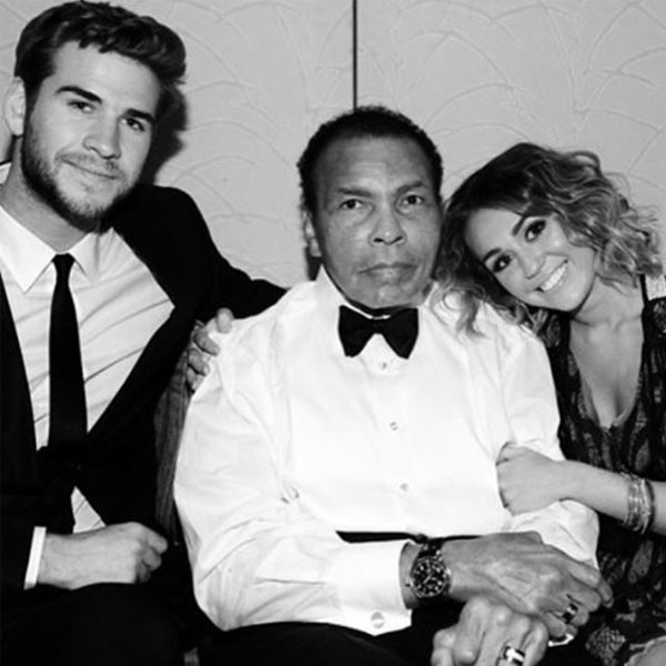Liam Hemsworth, Miley Cyrus, Instagram