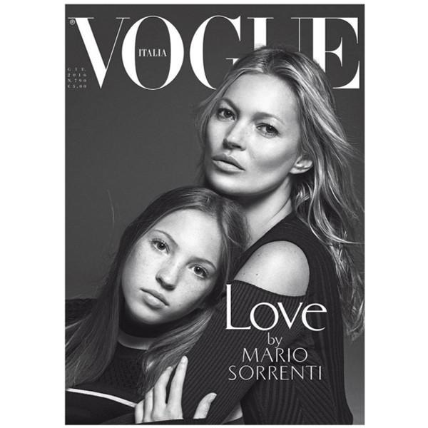 Vogue Italia, Kate Moss, Cover