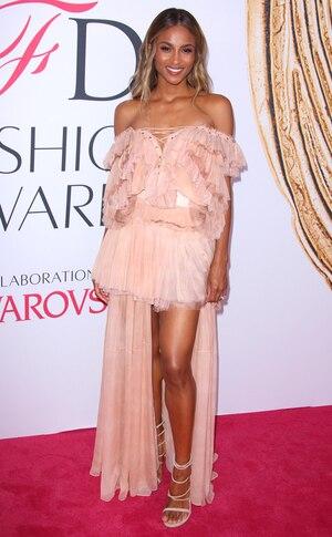 Ciara, 2016 CFDA Fashion Awards