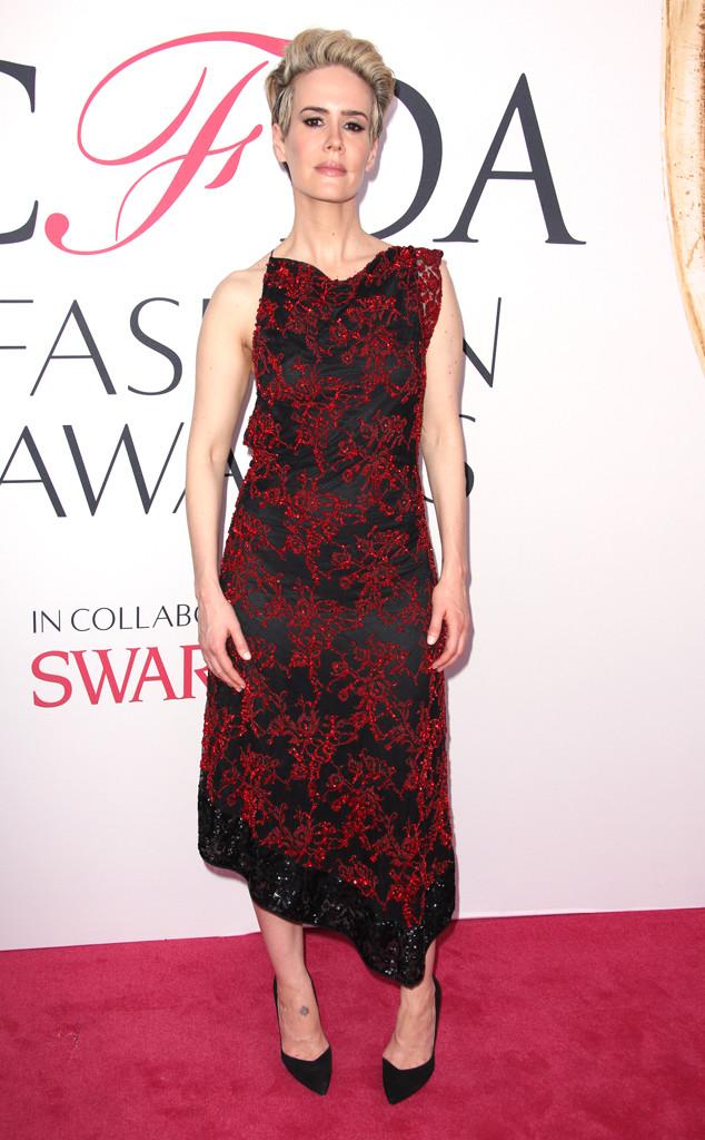 Sarah Paulson, 2016 CFDA Fashion Awards