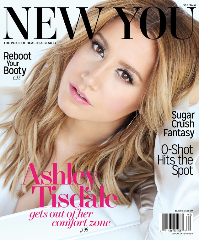 Ashley Tisdale, NEW YOU, EMBARGO until June 7th, 9:30am EST