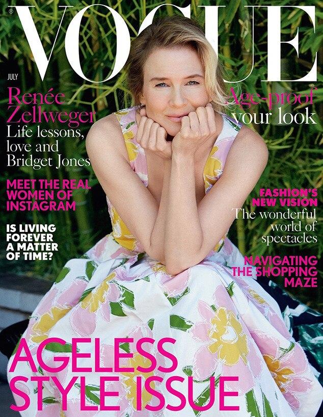 Renee Zellweger, British Vogue