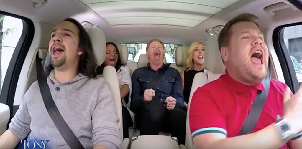 James Corden, Tony Award, Broadway, Carpool Karaoke