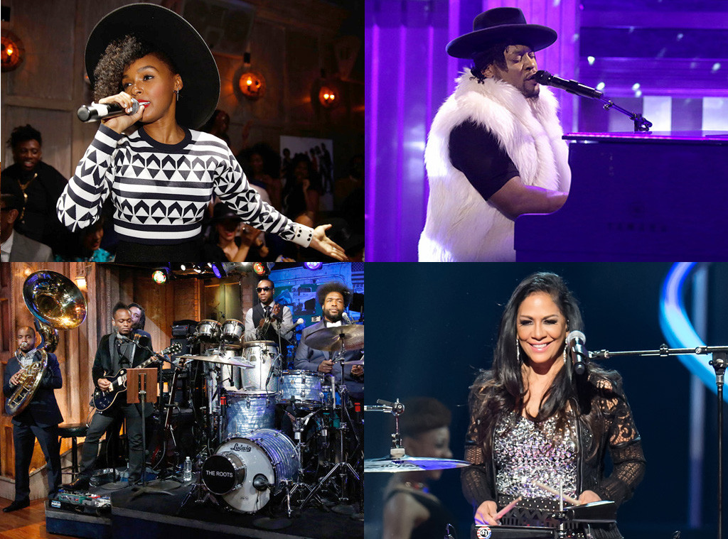 The Roots, D'Angelo, Janelle Monae, Sheila E.