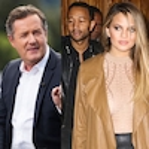 Chrissy Teigen, John Legend, Piers Morgan