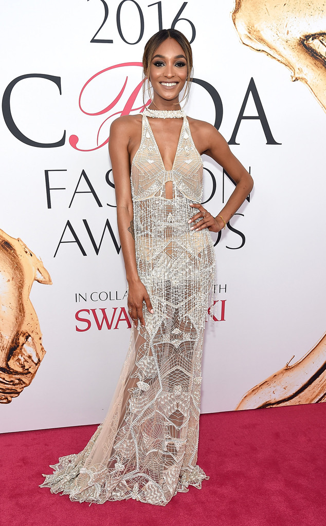 Jourdan Dunn, 2016 CFDA Fashion Awards