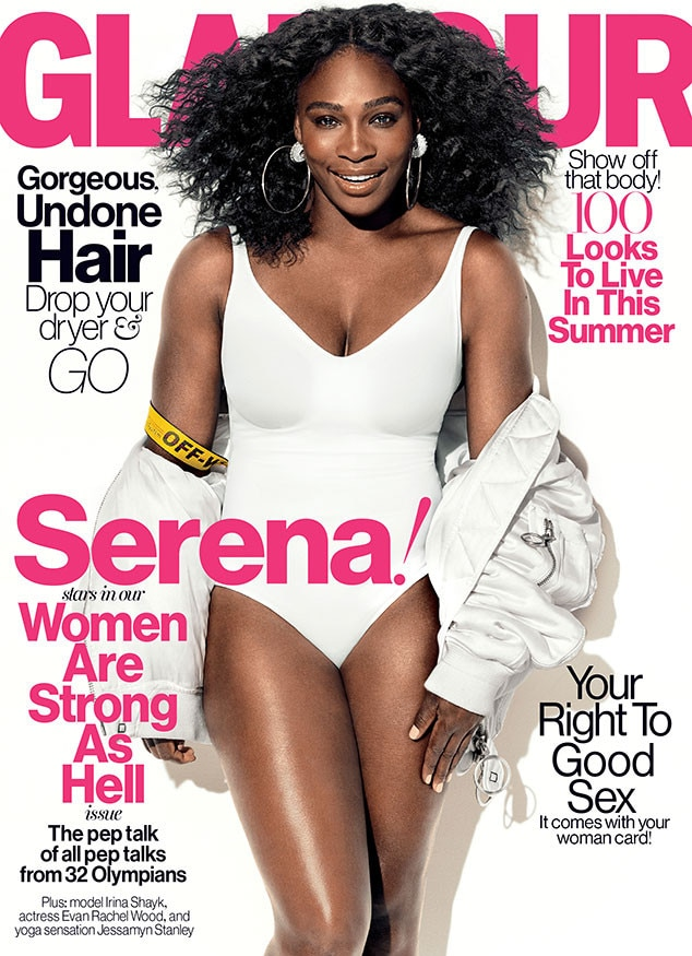 Serena Williams, Glamour, July Issue