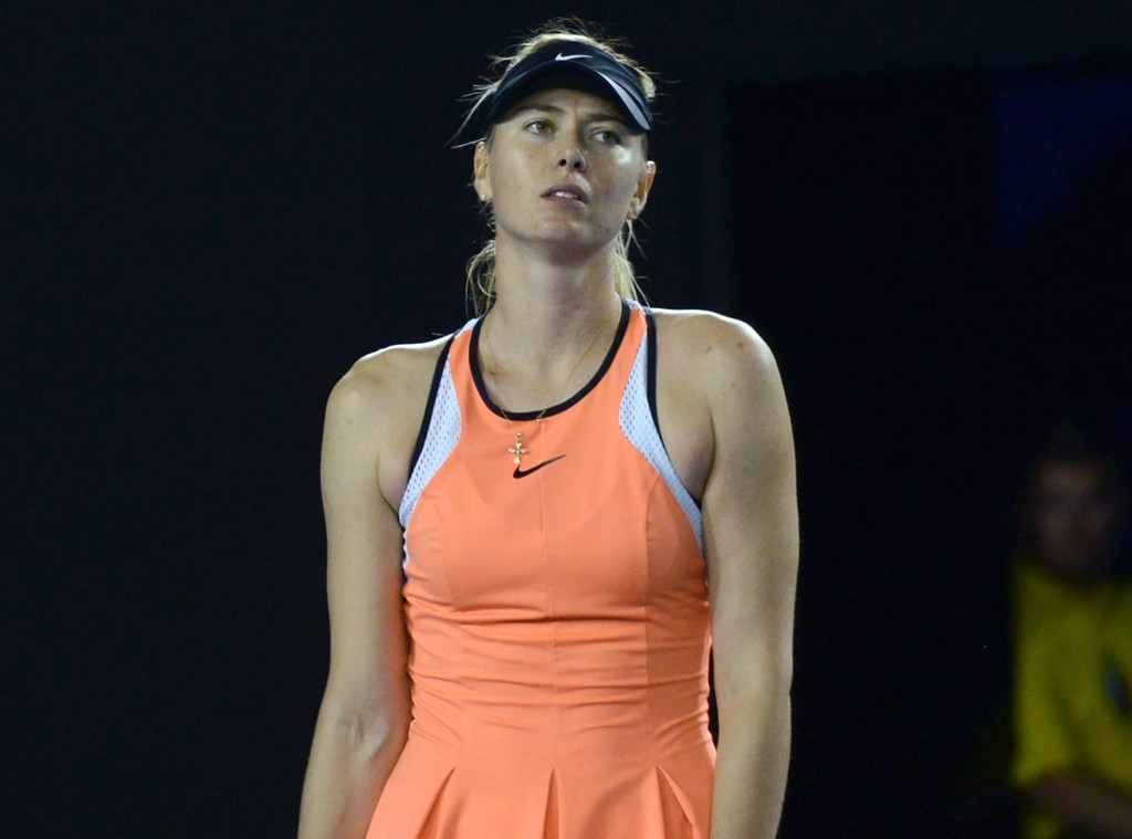 Maria Sharapova, Sports Scandals